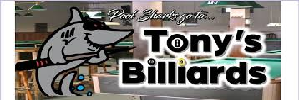 Sponsor - Tony's Billiards
