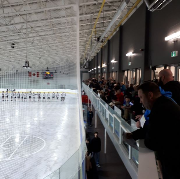 Victoria Road Arena Crowd